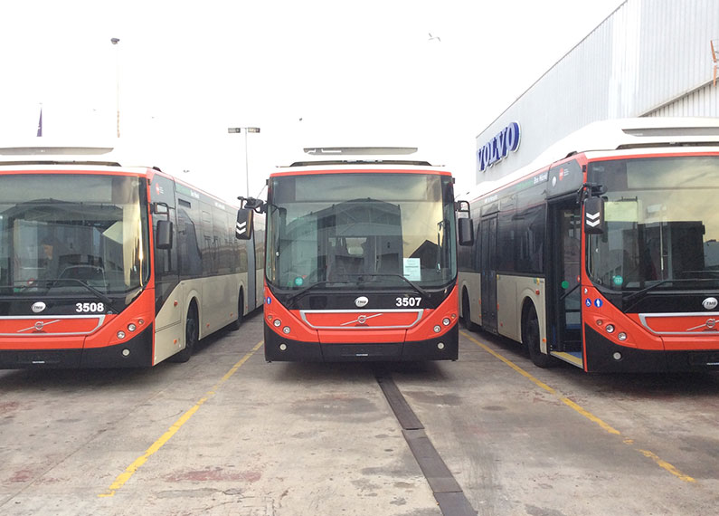 Domino SAS on Volvo buses   Domino Consulting