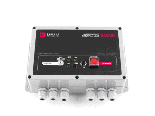 Fire suppression system for Electric Buses
