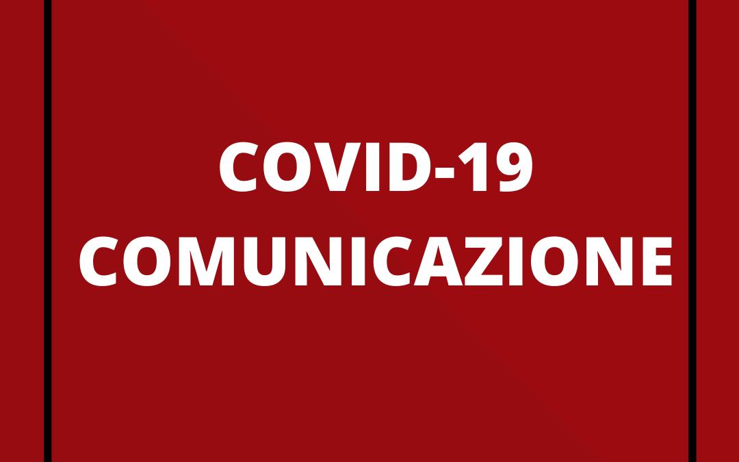 COVID-19 – Continuiamo ad essere al tuo fianco.